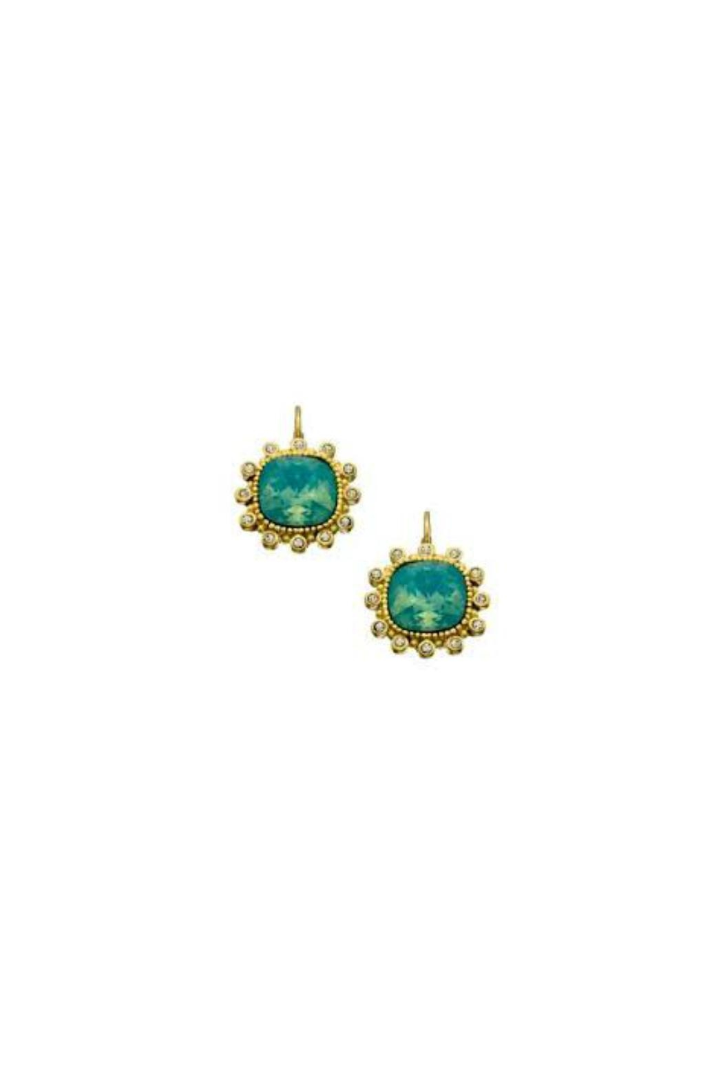 Gemma Collection Pacific Opal Earrings - Front Full Image
