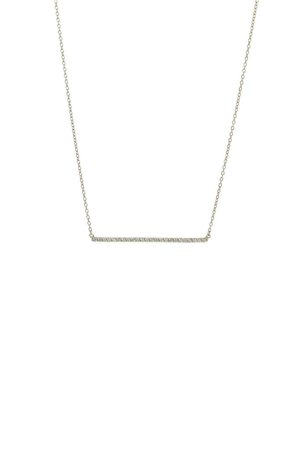 Gemma Collection Pave Bar Necklace - Main Image