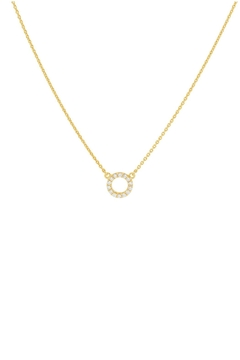 Shoptiques Product: Pave Circle Necklace