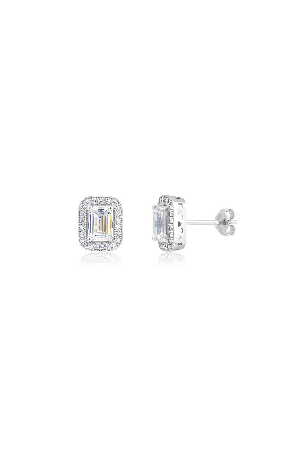 Gemma Collection Pave Deco Studs - Main Image