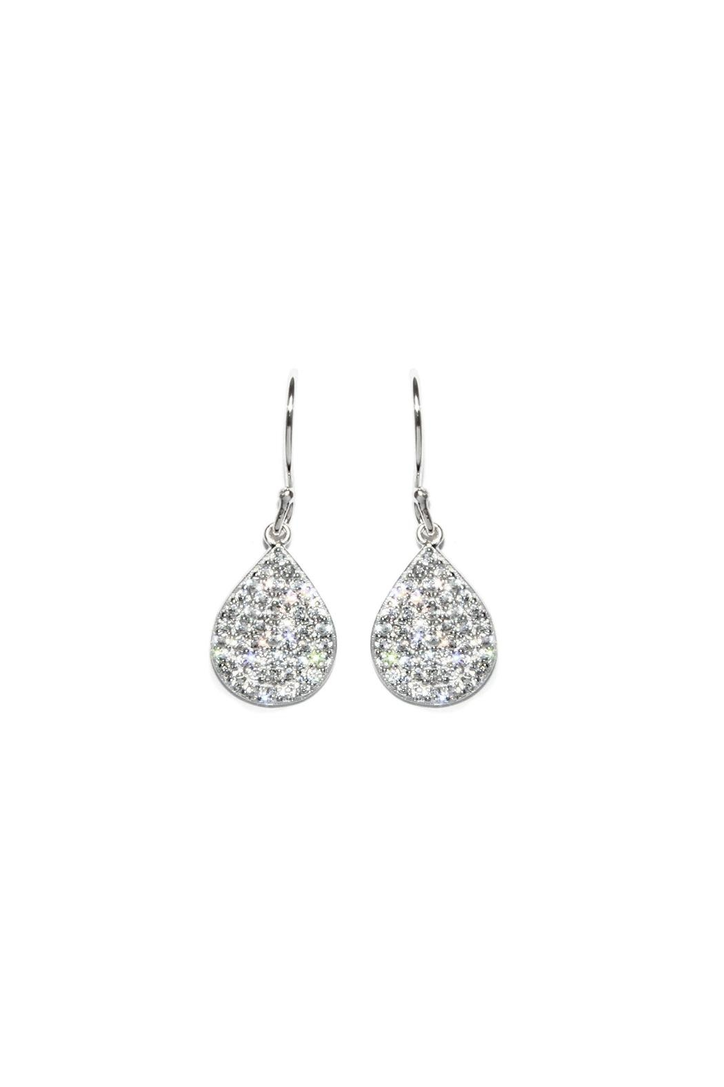 Gemma Collection Pave Drop Earrings - Main Image