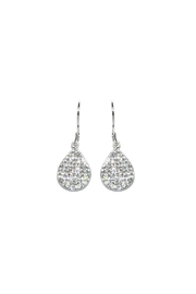 Gemma Collection Pave Drop Earrings - Product Mini Image