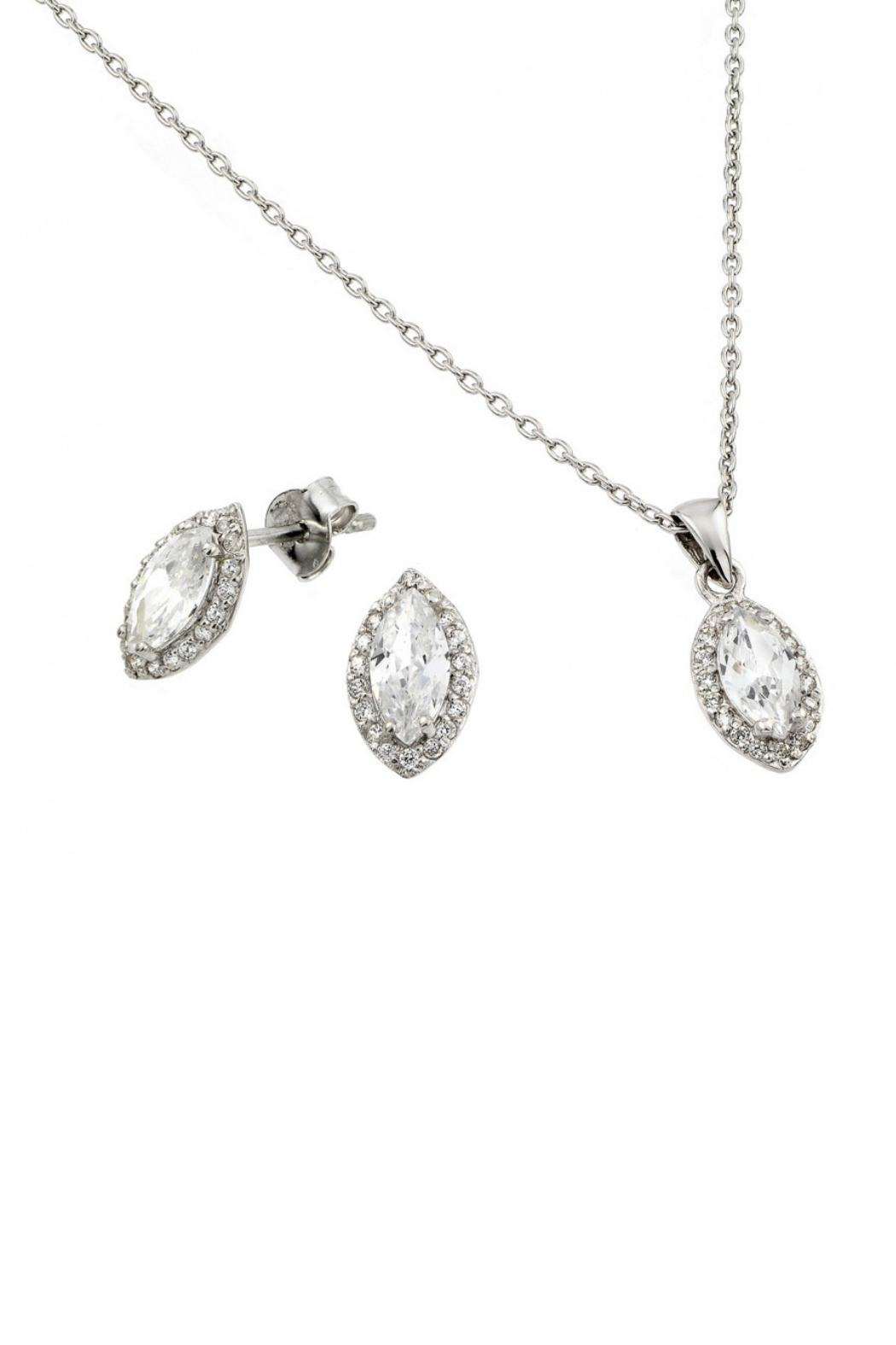 Gemma Collection Pave Marquise Set - Main Image