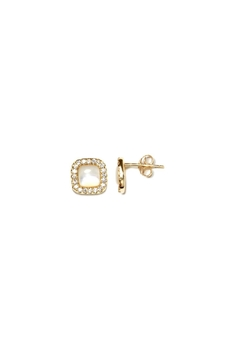 Shoptiques Product: Princess Pearl Stud Earrings