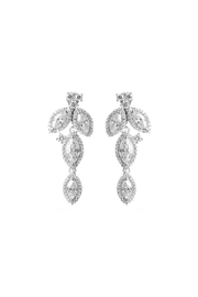 Gemma Collection Petal Drop Earrings - Front cropped