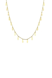 Gemma Collection Petals Necklace - Front cropped