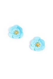 Gemma Collection Poppy Flower Studs - Product Mini Image