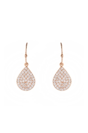 Gemma Collection Rose Gold Earrings - Product Mini Image