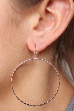 Shoptiques Product: Rose Gold Earrings