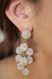 Gemma Collection Silver Ball Earrings - Product Mini Image