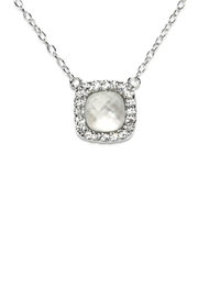 Gemma Collection Small Pearl Necklace - Product Mini Image