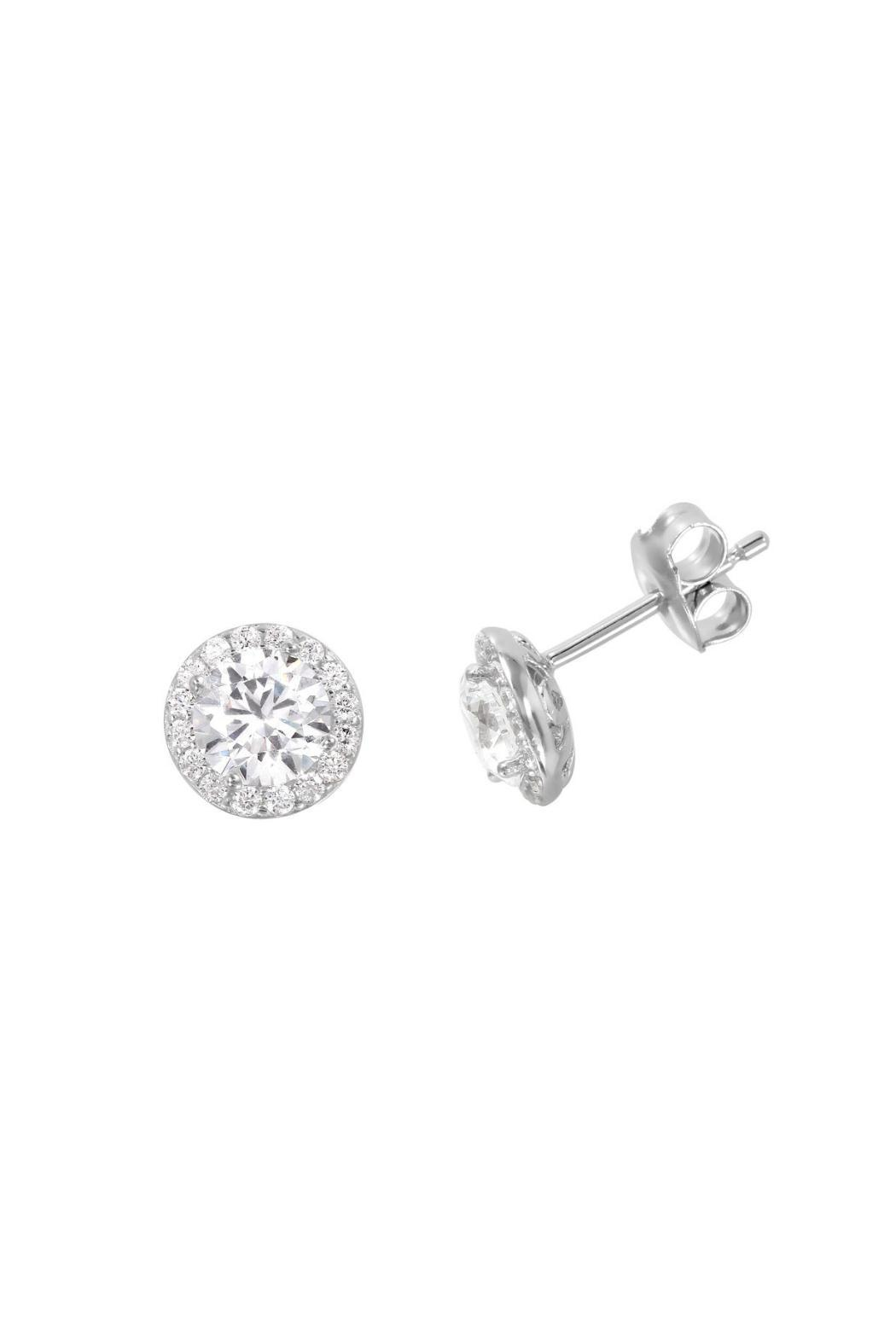 3facdbbb7 Gemma Collection Solitaire Pave Studs from Dallas — Shoptiques