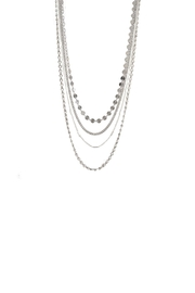 Gemma Collection Tiered Chain Necklace - Product Mini Image