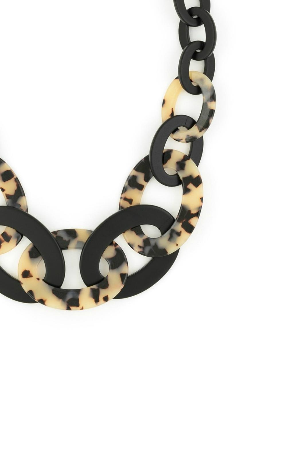 Gemma Collection Tortoise Necklace - Front Full Image