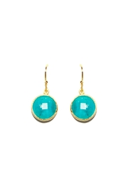 Gemma Collection Turquoise Earrings - Product Mini Image