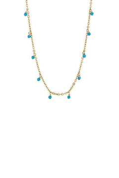 Shoptiques Product: Turquoise Stations Necklace