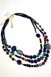 NAKAMOL CHICAGO Gemstone Layered Necklace - Product Mini Image