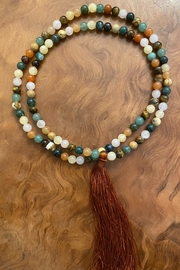 handmade  Gemstone Mala Prayer Beads - Product Mini Image