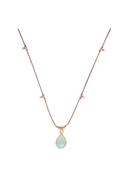 Bronwen Gemstone Necklace Moonstone - Product Mini Image