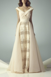 Gemy Maalouf Cap Sleeve Gown - Product Mini Image