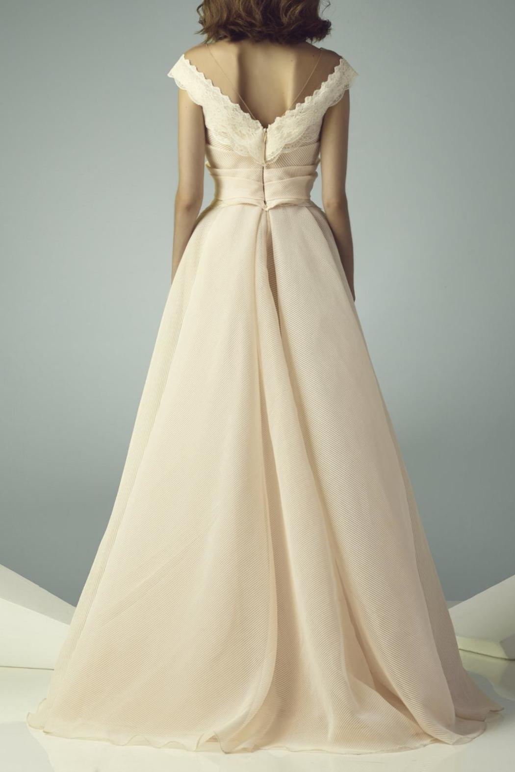 Gemy Maalouf Cap Sleeve Gown from New Jersey by District 5 Boutique ...