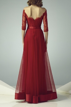 Gemy Maalouf Illusion Evening Gown - Alternate List Image