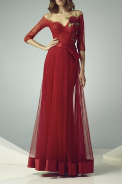 Gemy Maalouf Illusion Evening Gown - Product List Image