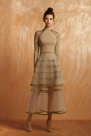 Gemy Maalouf Long-Sleeve Tea Dress - Product Mini Image