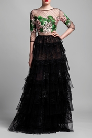 Gemy Maalouf Tiered Evening Gown - Product Mini Image
