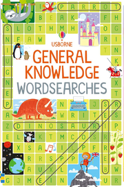 Usborne General Knowledge Wordsearches - Product Mini Image
