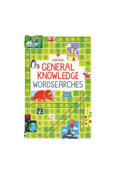 Usborne General Knowlege Wordsearch - Alternate List Image