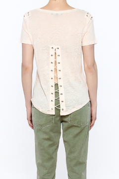 Generation Love  Lace Up Top - Alternate List Image