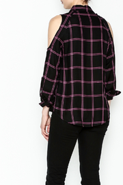 Generation Love  Maisie Plaid Top - Back cropped