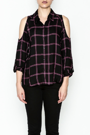 Generation Love  Maisie Plaid Top - Front full body
