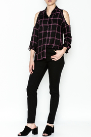 Generation Love  Maisie Plaid Top - Side cropped