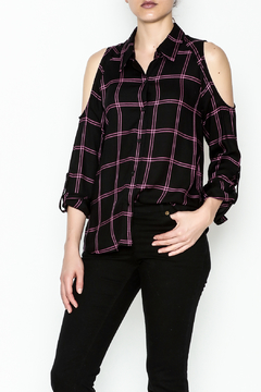 Shoptiques Product: Maisie Plaid Top