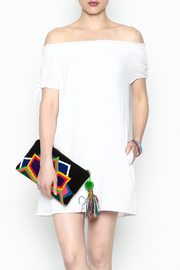 Generation Love  White Tunic Dress - Front cropped