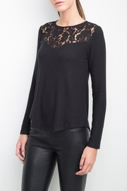 Generation Love  Ainsley Lace Yoke Top - Product Mini Image