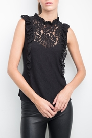 Generation Love  Annabella Lace Ruffle Tank - Product Mini Image