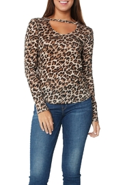 Generation Love  Blair Leopard Top - Product Mini Image