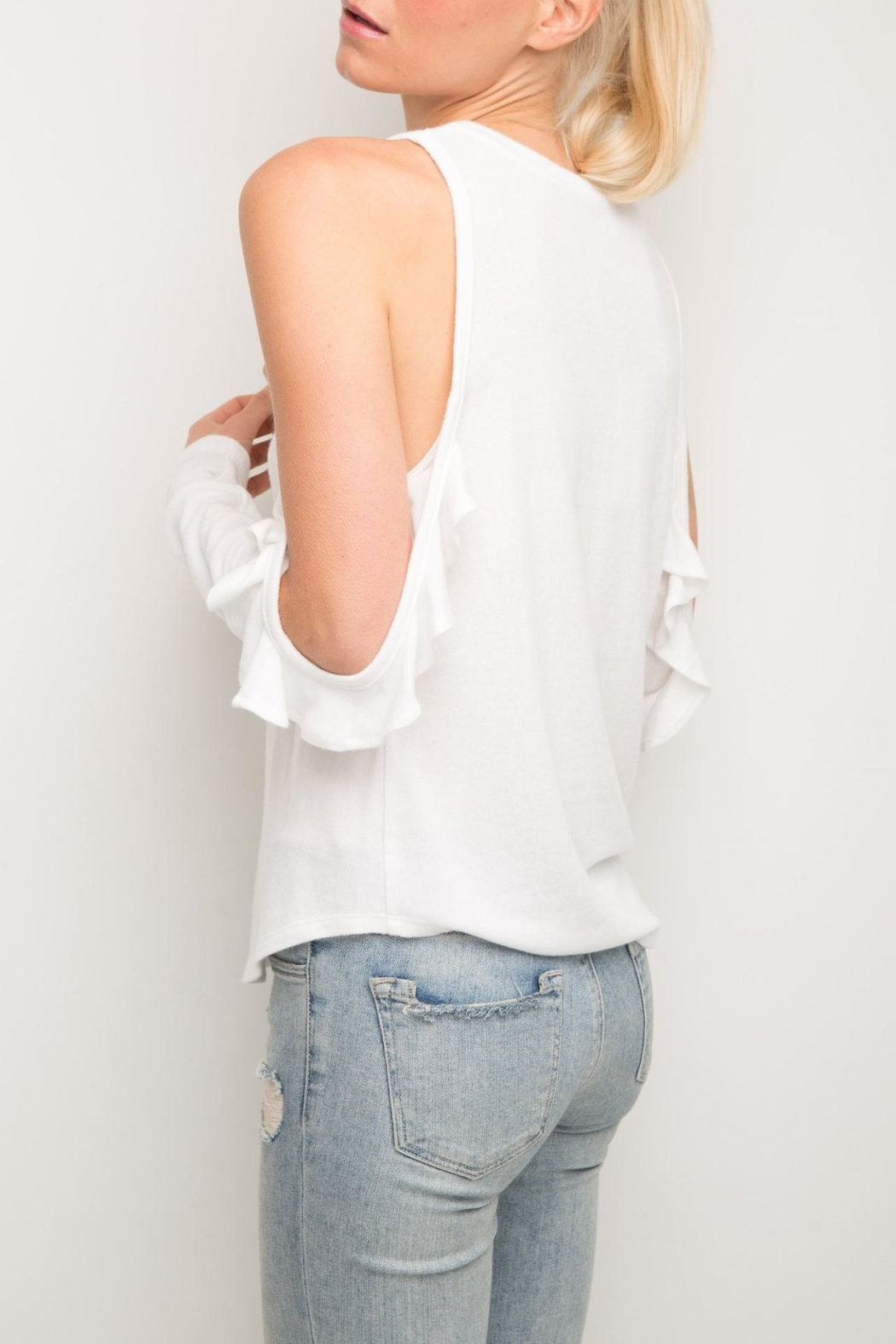 Generation Love  Brielle Ruffle Top - Front Full Image
