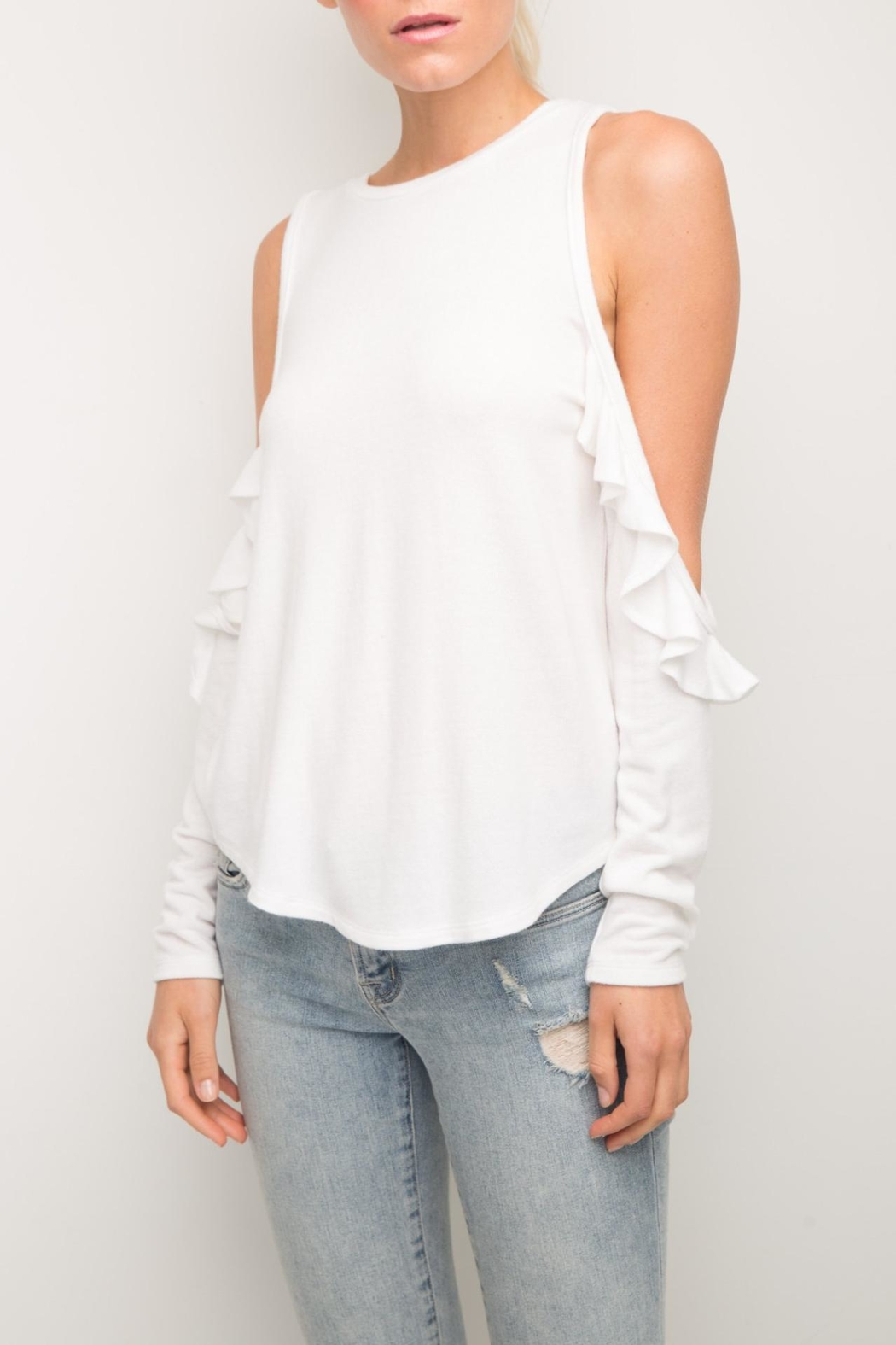 Generation Love  Brielle Ruffle Top - Main Image