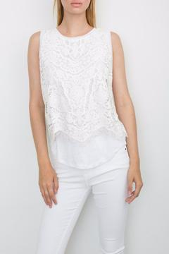 Shoptiques Product: Celine Embroidered Tank