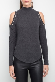 Generation Love  Cold Shoulder Eyelet Top - Product Mini Image