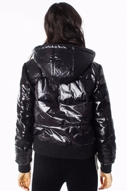 Generation Love  Drexler Sequined-Sleeve Puffer - Side cropped