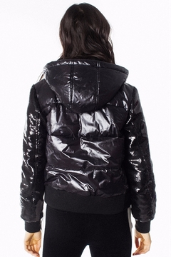 Generation Love  Drexler Sequined-Sleeve Puffer - Alternate List Image