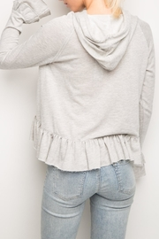 Generation Love  Easton Ruffle Hoodie - Front full body