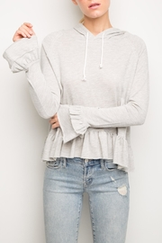 Generation Love  Easton Ruffle Hoodie - Product Mini Image