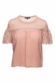Generation Love  Fran Gauze Lace Top - Product Mini Image