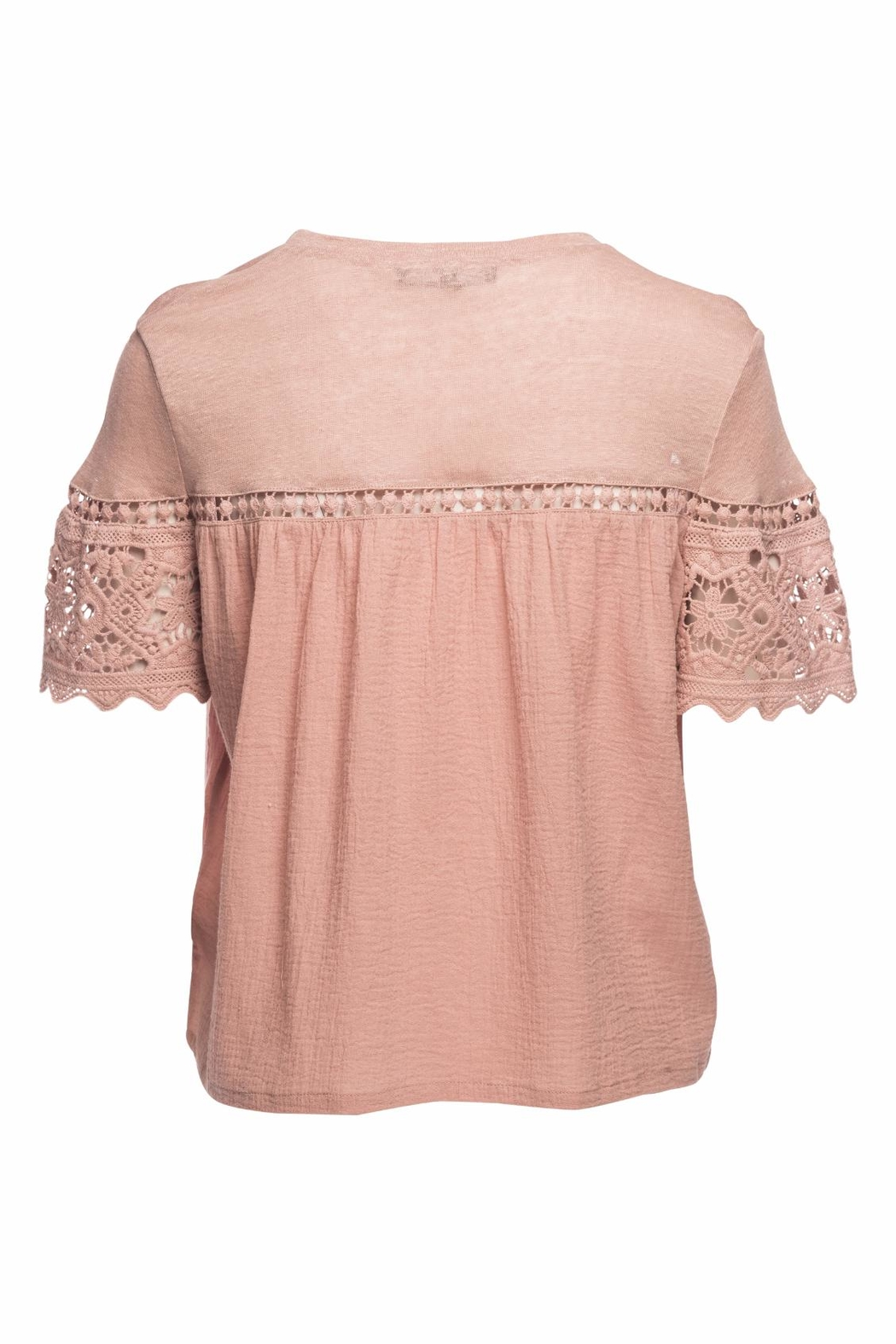 Generation Love  Fran Gauze Lace Top - Front Full Image